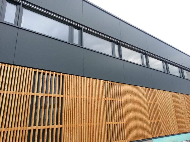 Fassade Bürogebäude